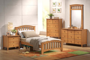 08940 San Marino Maple Twin Bed