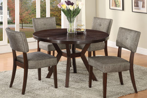 16250 - Drake Dining Table with 4 Chairs