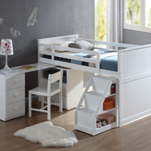 19405 - Wyatt Twin Loft Bed with Workstation