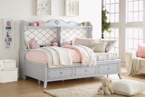 39165 - Edalene Gray Twin Daybed with Storage