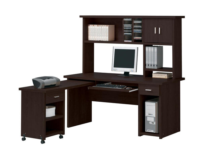 04692 Linda II Espresso Finish Desk