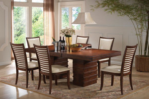 Formal Dining Set 70020 - Pacifica Cherry Finish Dining Table with 6 Chairs