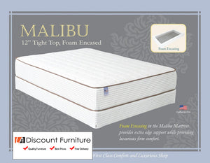 "811 Maxim Malibu Innerspring Foam Encased 12"" Queen Mattress"