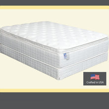 "823 Maxim Restopedic Euro Pillow Top-Pocket Coils 16"" Queen Mattress"
