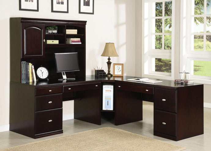 92031 Cape Espresso Finish Office Desk