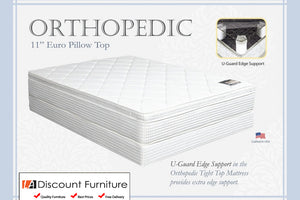 "920A Maxim Orthopedic Pillow Top Innerspring 11"" Queen Mattress"