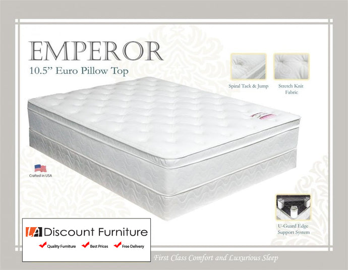 930A Maxim Emperor Euro Pillow Top Innerspring 10.5