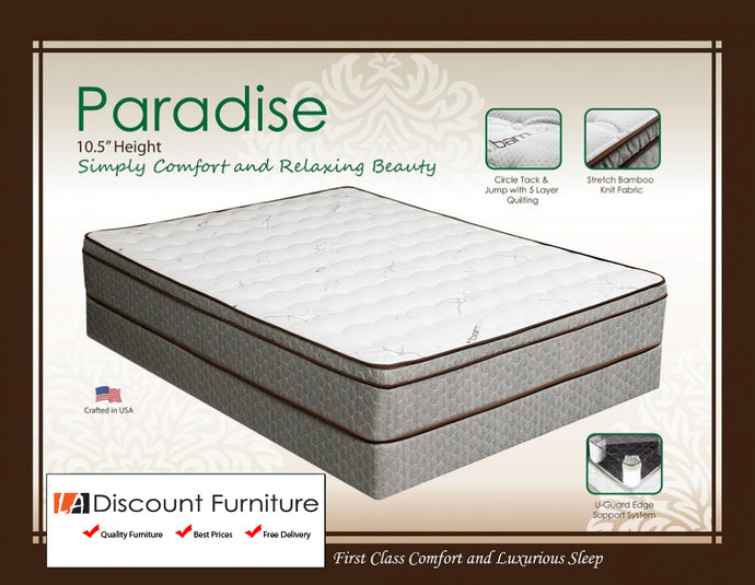 942 Maxim Paradise Euro Pillow Top Innerspring 10.5