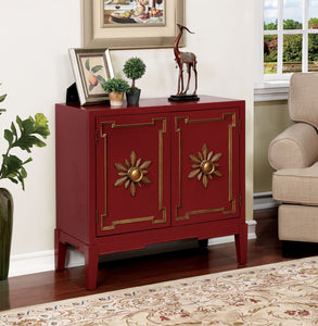 CM-AC304RD - Nayeli Red Hallway Chest