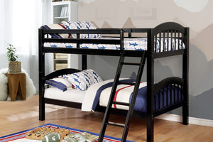 CM-BK524BK - Coney Island Twin over Twin Bunk Bed