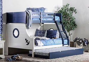CM-BK629 - Nautia Twin over Full Bunk Bed