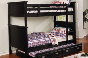 CM-BK630BK-TT- Marci Twin over Twin Bunk Bed