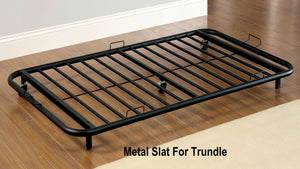 CM1603 Twin Daybed - Hamden Metal Crafted Transitional Black Finish Daybed
