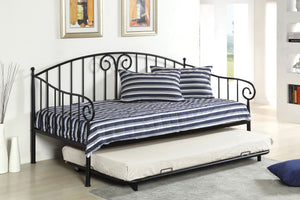 CM1603 - Hamden Black Twin Daybed
