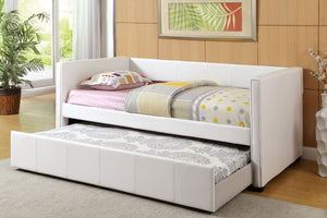CM1955WH - Cadiz Twin Daybed with Trundle