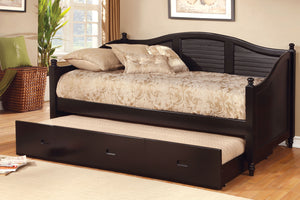 CM1957BK - Bel AIr Black Twin Daybed with Trundle