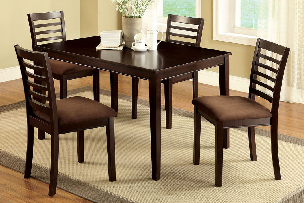 CM3001T-5PK - Eaton Dining Table with 4 Chairs