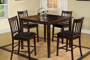 5PC Counter Height Dining Set CM3012PT Northvale Counter Height Table + 4 Chairs