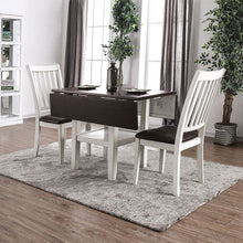 CM3197T - Raw Wood Top Dining Table Set