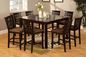 Eleanor 9pc Counter Height Dining Set CM3246PT