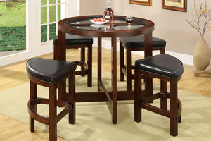 CM3321PT-5PK - Crystal Cove Counter Height Table with 4 Stools