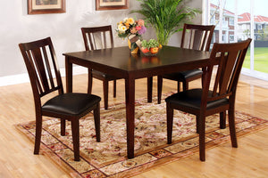CM3325T-5PK - Bridgette Dining Table with 4 Chairs