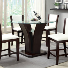 CM3710PT - Manhattan Counter Height Table with 4 White Chairs