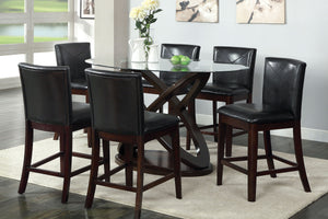 Atenna 7pc Counter Height Dining Set CM3774PT