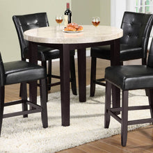 CM3866PT-40 - Marion Genuine Marble Top Counter Height Dining Set