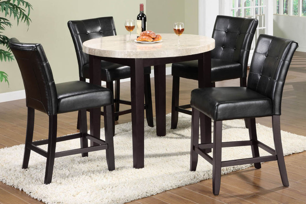 Marion 5pc Counter Height Dining Set CM3866PT-40