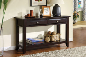 CM4265 Sofa Table - Baldwin Espresso Finish Contemporary Style Sofa Table