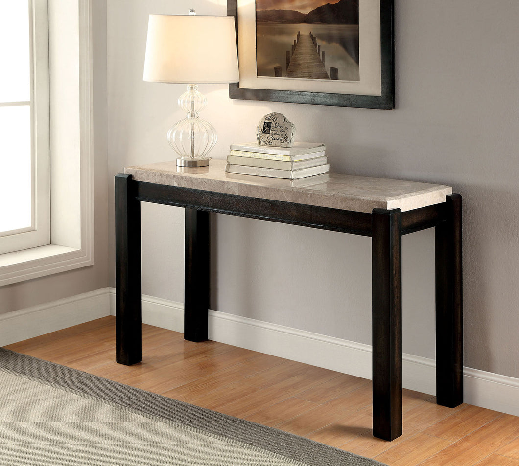 CM4823S - Gladstone Genuine Marble Top Sofa Table