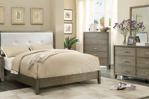CM7068GY - Enrico Gray Queen Platform Bed