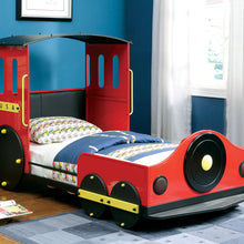 CM7106 - Retro Express Train Design Twin Bed