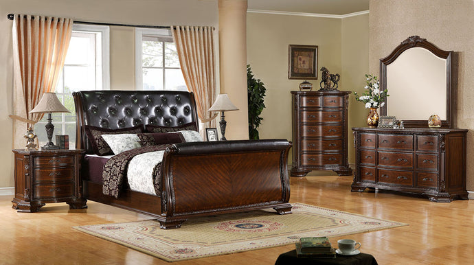 CM7267 - South Yorkshire Sleigh Queen Bed
