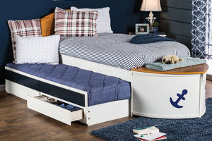 CM7768F - Voyager Full Captain Trundle Bed