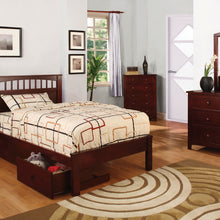 CM7904CH - Carus Cherry Twin Bed - Available in Full Bed