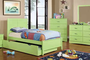 CM7941GR Prismo Green Kids Twin Bed