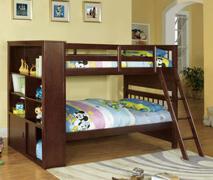 CM-BK147 - Hayden Twin/Twin Bunk Bed with Side Storage