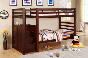 CM-BK966 - Pine Ridge Twin/Twin Bunk Bed