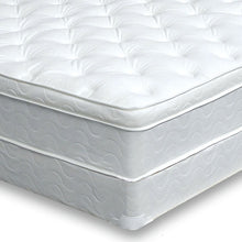 "DM315 White Paradise Euro Pillow Top 11"" Innerspring Queen Mattress"
