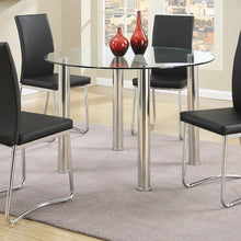 F2200 - Nella Dining Table with 4 Black Chairs