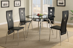 F2211 - Beno Dining Table with 4 Chairs