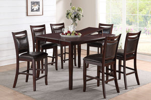 F2238 - Counter Height Dining Table with 6 Chairs