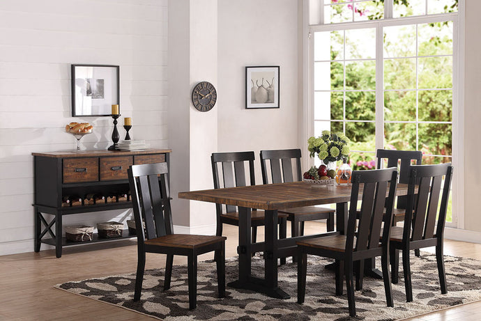 F2323 - Dining Table with 6 Chairs