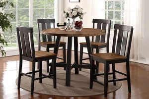 F2324 - Counter Height Dining Table with 4 Chairs