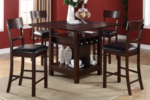 F2347 - Counter Height Dining Table with 4 Chairs