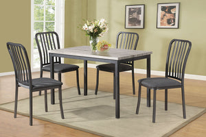 F2356 - Dining Table with 4 Chairs