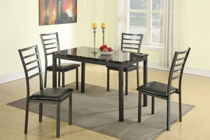F2368 - Dining Table with 4 Chairs