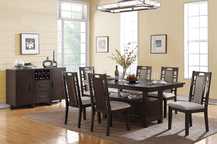 F2383 - Dining Table with 6 Chairs